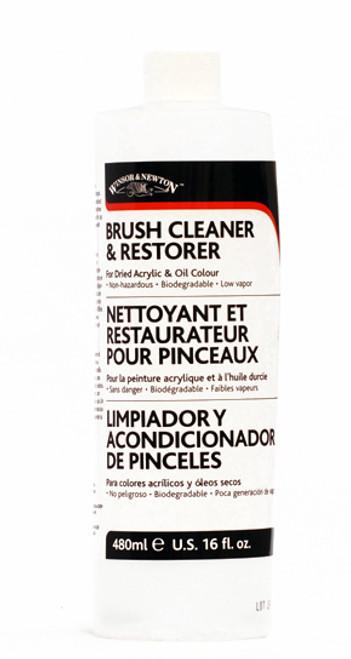 419019, Winsor & Newton Brush Cleaner, 16oz.