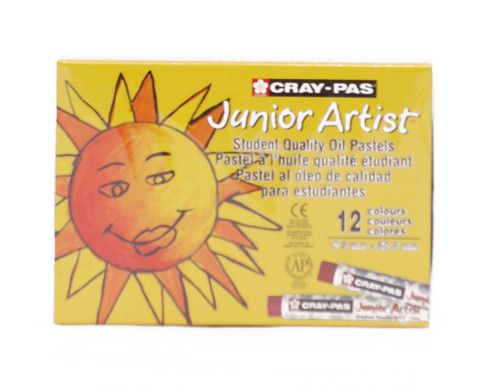 447650, Cray-Pas Junior Artist Oil Pastel Set, 12/pastel