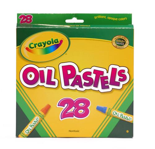 446524, Crayola Oil Pastel Set, 28/pastel