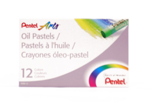 447600, Pentel Oil Pastel Set, 12/pastel