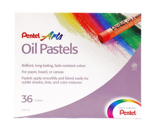 447603, Pentel Oil Pastel Set, 36/pastel