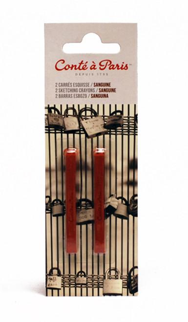 447267, Conte Crayons, Sanguine Natural, 2/box