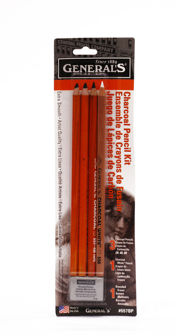 446895, General's Charcoal Pencil Kit