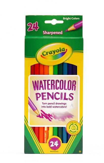 446508, Crayola Watercolor Pencils, 24 color Set