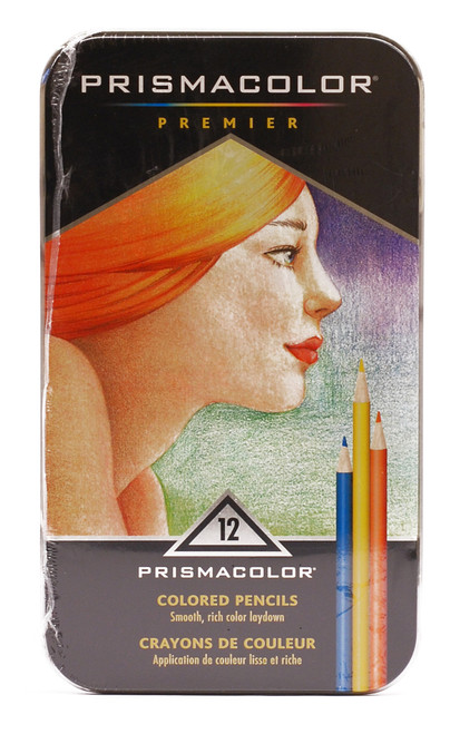 446160, Prismacolor Colored Pencils, 12 color Set