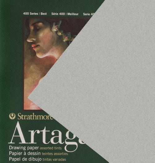 "347121, Strathmore Artagain 400 Series Steel Gray, 19""x25"", 25 Sheets"