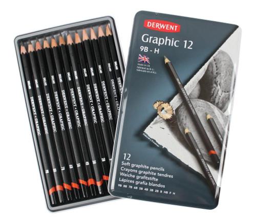 446426, Derwent Graphic Designer Set, 12/
