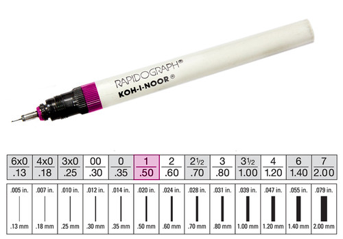 509006, Rapidiograph Technical Pen, 1
