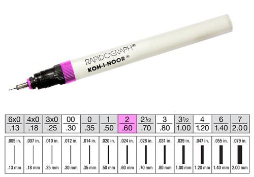 509007, Rapidiograph Technical Pen, 2