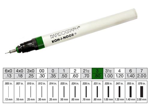 509009, Rapidiograph Technical Pen, 3