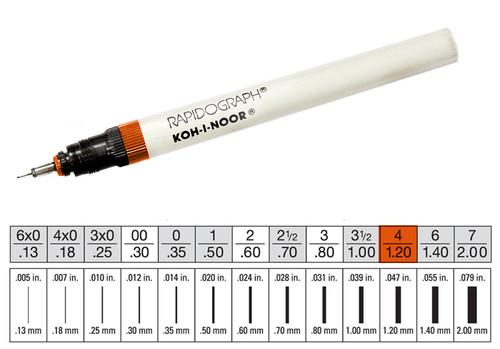 509010, Rapidiograph Technical Pen, 4