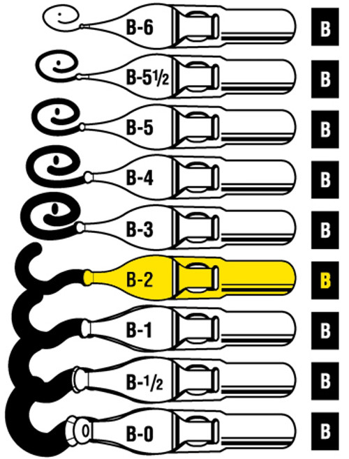 528118, Speedball Lettering & Drawing Points, B Style,  B2, dozen