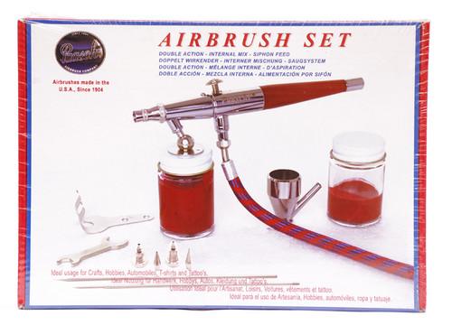 487034, Paasche Double Action Airbrush Set, VL-Set