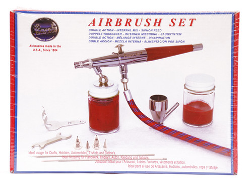 487035, Paasche Double Action Airbrush Set, VLS-Set