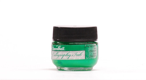 511558, Speedball Artist Pigmented Acrylic Inks, 1/2oz., Emerald Green
