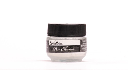 511564, Speedball Artist Pigmented Acrylic Inks, 1/2oz., Pen Cleaner