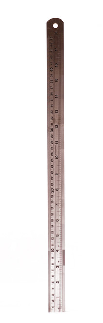 557114, Stainless Steel Rulers, 18""