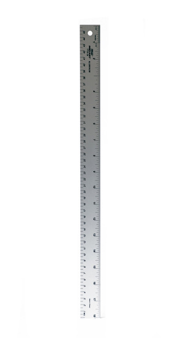 "557136, Aluminum Straight Rulers, 18"""