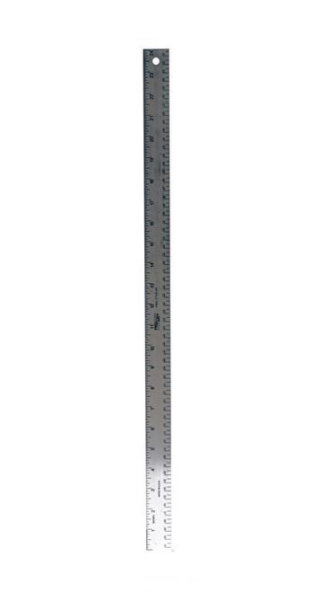"557137, Aluminum Straight Rulers, 24"""