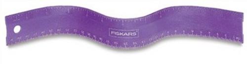 "557128, Fiskers Flexible Ruler, 12"""