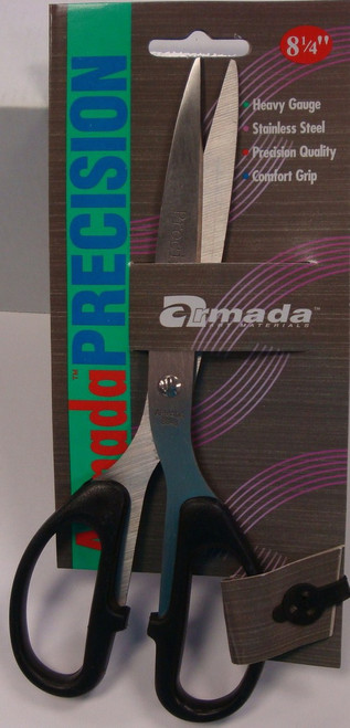 "572533, Precision Straight Scissor, 8 1/4"", Left or Right Hand"