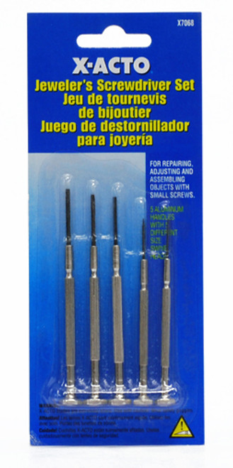 572650, 6 - Piece Jeweler's Screwdriver Set