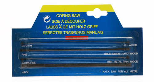 571118, Coping Saw Replacement Blades, 5/blades