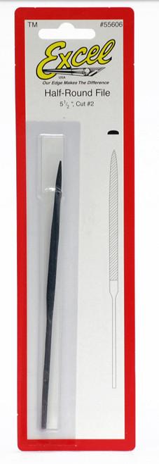 572663, Needle File, 1/2 Round