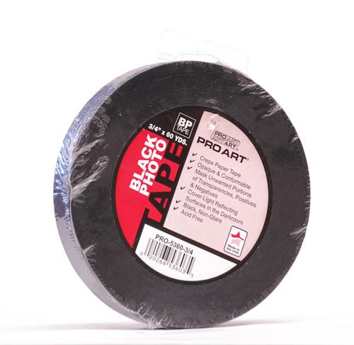 "572220, Black Photo Tape, 3/4"" x 60yd."