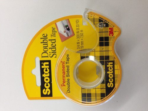 "572208, Double Stick Tape, 3/4"" x 25'"
