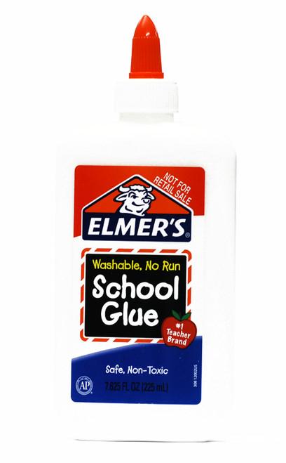 572120, Elmer's Washable School Glue, 8oz.