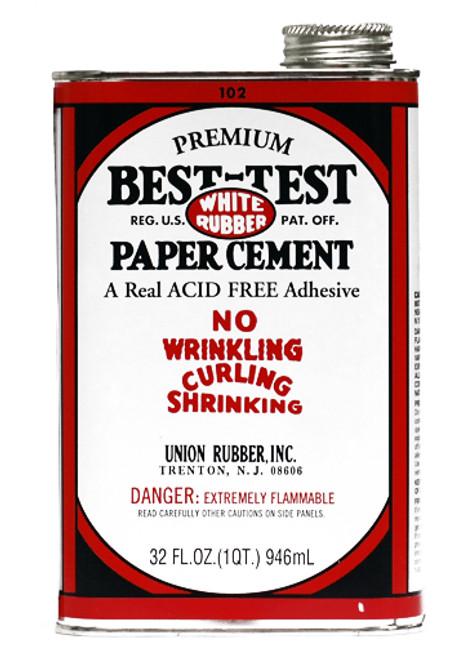 572103, Best-Test Rubber Cement, 32oz.