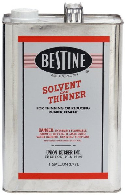 572107, Bestine Rubber Cement Thinner, 128oz. (IN STORE ONLY)