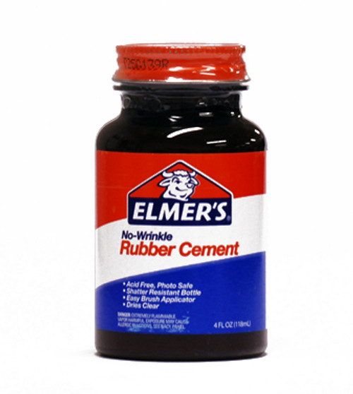 572094, Elmer's Rubber Cement, 4oz.
