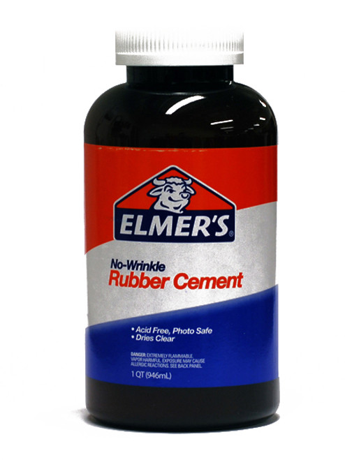 572097, Elmer's Rubber Cement, 32oz.