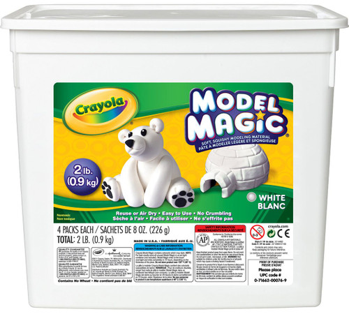 633902, Crayola Model Magic, White, 2lb.