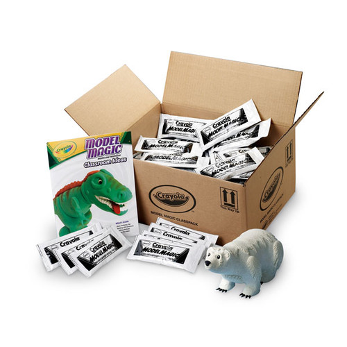 633904, Crayola Model Magic Classpack, White, 75lb.