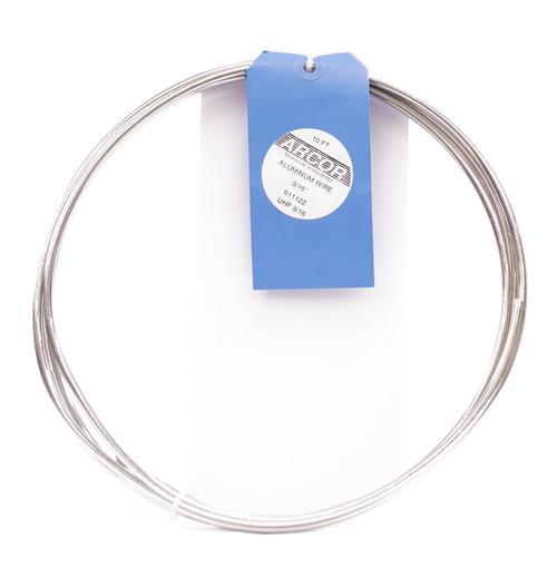 """611122, Armature Wire, Aluminum, 3/16""""x10'"""