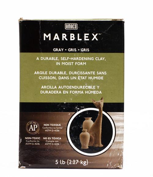 617715, Amaco Marblex Clay, 5lb.pkg.