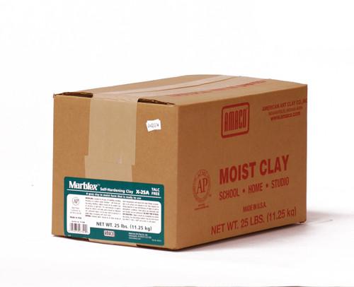 617714, Amaco Marblex Clay, 25lb.pkg.