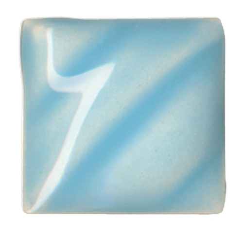 611208, Amaco Gloss Glaze , Lead Free, Cone 06-05, Pint, LG-24, Light Blue