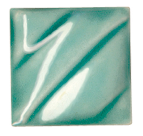 611210, Amaco Gloss Glaze , Lead Free, Cone 06-05, Pint, LG-26 CL, Turquoise