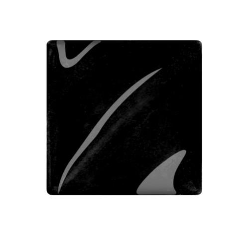 611555, Amaco Teacher's Palette Glazes, Cone 05 ,Pints, TP-1, Coal Black