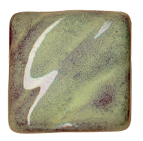 611609, Amaco Opalescent Glazes, Cone 05, Pints, O-42, Moss Green
