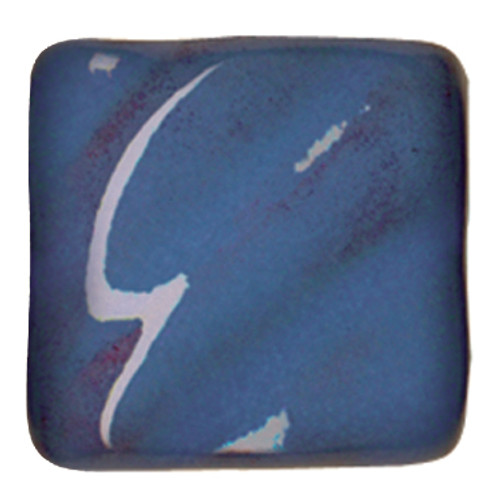 611606, Amaco Opalescent Glazes, Cone 05, Pints, O-23 CL, Sapphire Blue