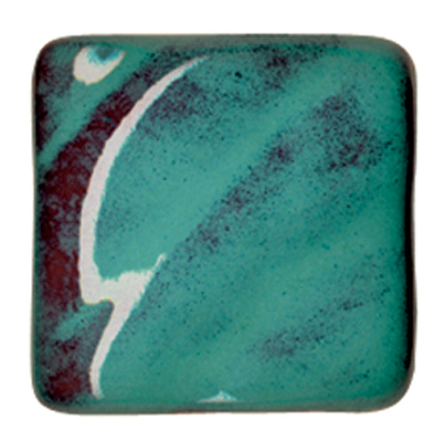 611607, Amaco Opalescent Glazes, Cone 05, Pints, O-26 CL, Turquoise