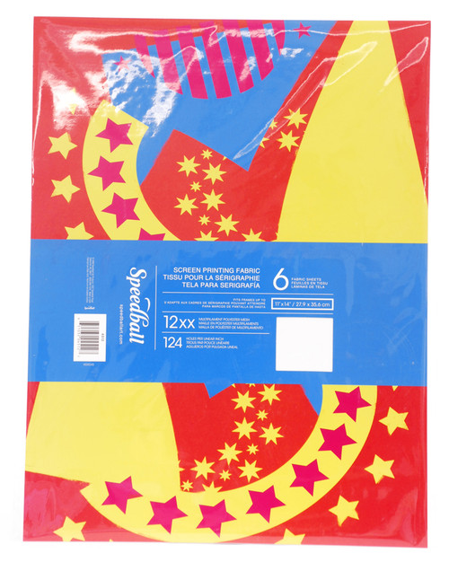 629711, Speedball Multifilament Polyester Package, 6 sheets, 11x14