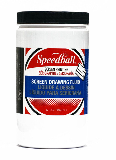 629403, Speedball Screen Drawing Fluid, 32 oz. Jar