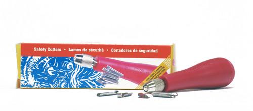 620110, Speedball Linozip Safety Cutter Assortment #37