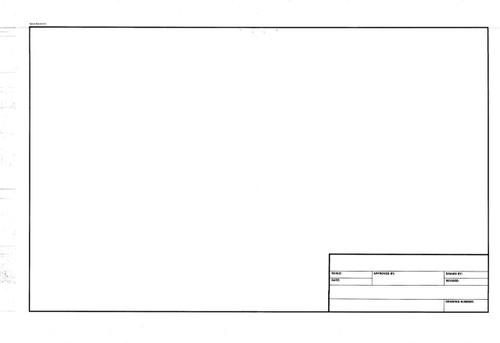 "312132, Standard Titleblock Translucent Bond, 18""x24"" 200 sheets"